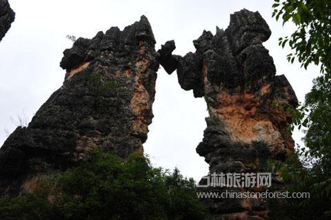 石林的石柱